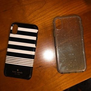 Kate Spade IPhone X Case plus Extra
